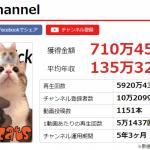 あつしちゃんねるの収入やアンチがヤバすぎw猫動画でボロ儲け?
